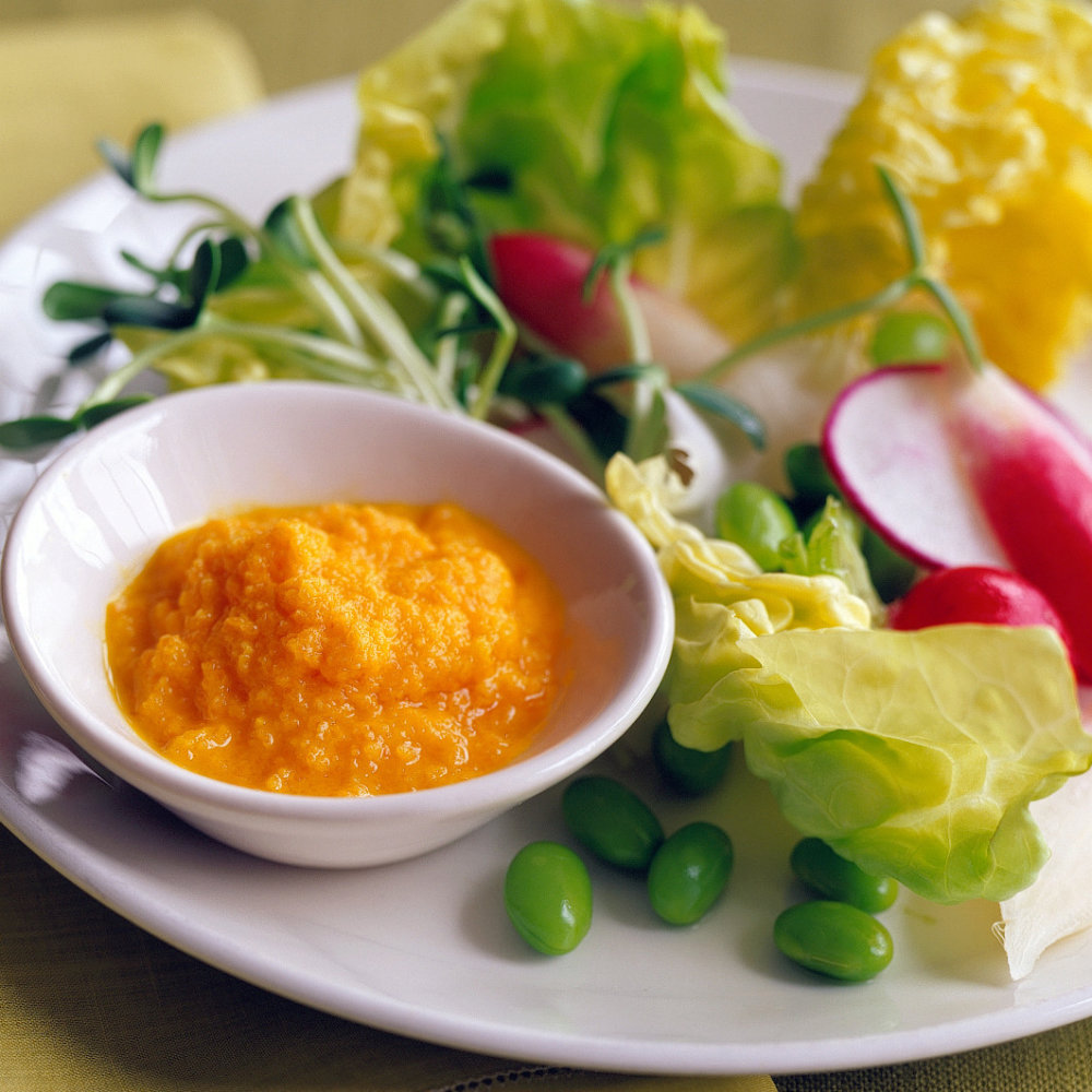 Carrot, Miso, and Ginger Salad Dressing