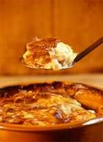Cider Scalloped Potatoes with Smoked Gouda