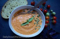 10-Minute Roasted Tomato Soup