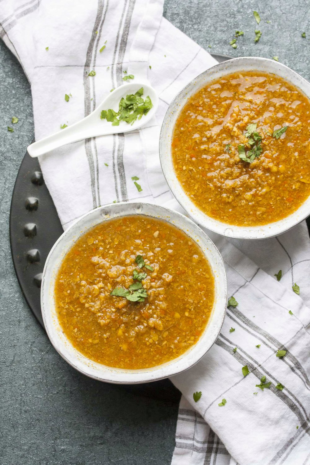 Indo-Chinese Corn Soup from The Ultimate Vegan Cookbook for Your Instant Pot